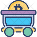 Mining Cart Basket Icon