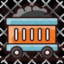 Mining Cart Coal Cart Coal Container Icon