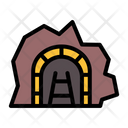 Mining Cave Mining Tunnel Tunnel Icon