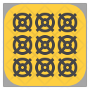 Mining Factory Data Icon