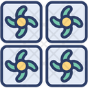Mining Farm Data Center Icon