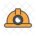 Mining Helmet Protection Helmet Icon