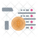 Mining Server Cryptocurrency Bitcoin Icon