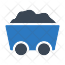 Mine Coal Construction Icon