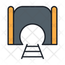 Mining Tunnel Tunnel Train Tunnel Icon
