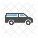 Minivan Car Icon