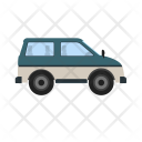 Minivan Car Bus Icon