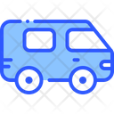 Minivan Car Vehicle Icon