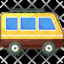 Minivan Minibus Mini Coach Icon