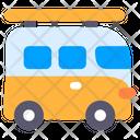 Minivan Minibus Camper Van Icon