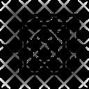 Cryptographic Crypto Token Non Fungible Token Icon