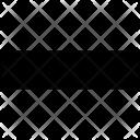 Minus Close Delete Icon