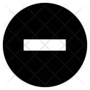 Minus Subtract Remove Icon