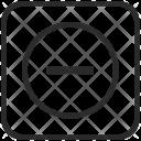 Minus Math Function Icon