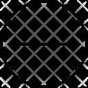 Interface Minus Negative Icon