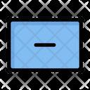 Min Remove Minus Icon