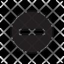 Minus Remove Decrease Icon