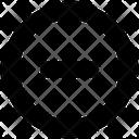 Interface Circle Minus Icon