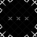 Block Minus Reduce Icon