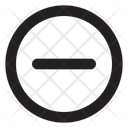 Minus Cr Fr Minus Remove Icon