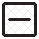 Minus Sq Fr Minus Remove Icon