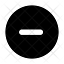 Minus Lower Decrease Icon