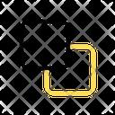 Minus Back Icon
