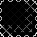 Minus back layer Icon