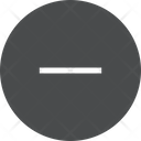 Minus Sign Maths Sign Substraction Icon