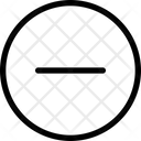 Minus Circle Remove Calncel Icon