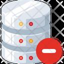 Minus Databse Remove Database Remove Icon