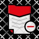 Minus file Icon