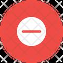 Minus Remove Round Icon