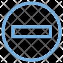 Minus Sign Icon