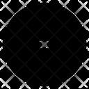 Minus Sign Symbol Document Icon