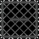 Minus Square Icon