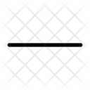 Minus Symbol Remove Calncel Icon