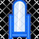 Floor Mirror Furniture Icon