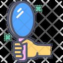 Beauty God Mirror Hand Icon