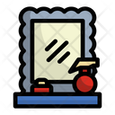 Mirror Barber Shop Equipment Icon