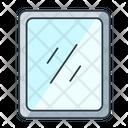 Mirror Bathroom Framed Icon