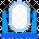 Mirror Mirrors Vertical Mirror Icon