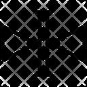 Flip Reflect Shape Icon
