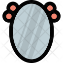 Old Fashioned Mirror Icon