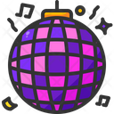 Mirror Ball Disco Club Icon