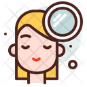 Mirror Face Beauty Dressing Face Icon