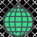 Celebration Globe Mirror Icon