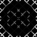 Mirror Horizontal Mirror Edit Tool Icon