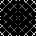 Mirror Horizontally Horizontally Tool Icon