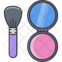 Mirror puff Icon